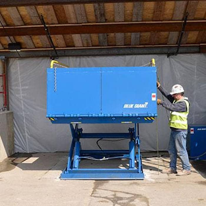 Dock leveller & Lifting table Lifts Devon, Cornwall, Plymouth & Exeter