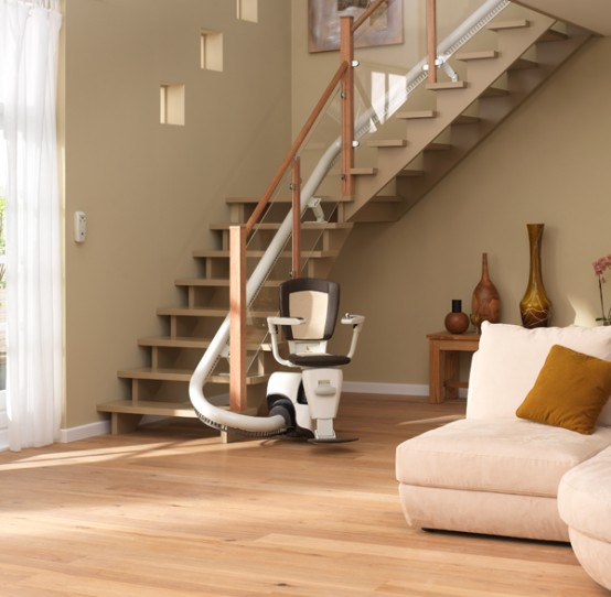 homeglide-straight-stairlift-chair in devon and cornwall
