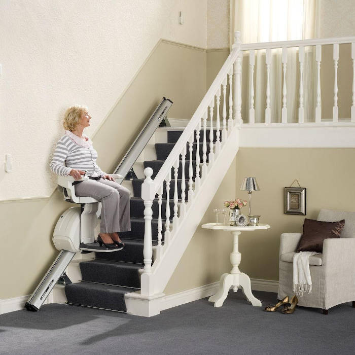 homeglide-straight-stairlift-chair-Devon, Cornwall, Plymouth & Exeter